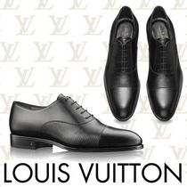 Louis Vuitton EPI Straight Tip Loafers Plain Leather Loafers & Slip-ons