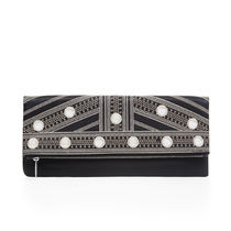 BCBG MAXAZRIA Leather Party Style Clutches