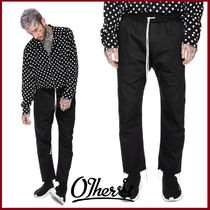 Other UK Tapered Pants Street Style Plain Cotton Tapered Pants