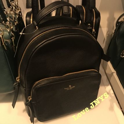 f4cf2288ee8f kate spade new york 2018-19AW Plain Leather Backpacks by loveJNYS ...