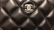 CHANEL MATELASSE Plain Pouches & Cosmetic Bags