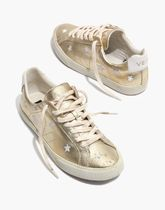 Madewell Star Casual Style Street Style Collaboration Leather