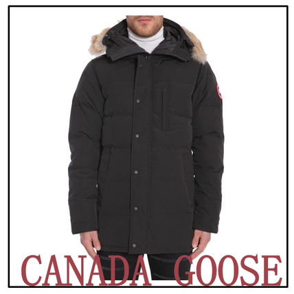... CANADA GOOSE Down Jackets Plain Long Down Jackets ...