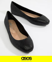 ASOS Casual Style Python Ballet Shoes