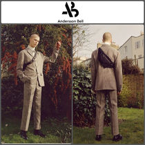 ANDERSSON BELL Other Check Patterns Cropped Pants