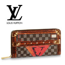 Louis Vuitton ZIPPY WALLET Canvas Long Wallets