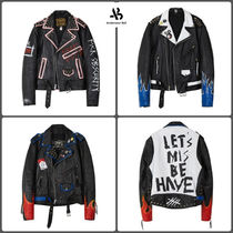 ANDERSSON BELL Leather Biker Jackets