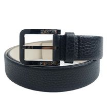 VALENTINO Street Style Plain Leather Belts