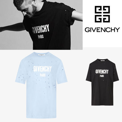 631ec6b1761b ... GIVENCHY More T-Shirts Unisex Street Style Cotton Short Sleeves  Oversized T-Shirts ...