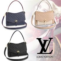 Louis Vuitton MONOGRAM EMPREINTE Monogram 2WAY Plain Leather Elegant Style Handbags