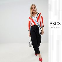ASOS Stripes Cropped Shirts & Blouses