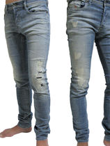 DIESEL Denim Skinny Fit Jeans & Denim