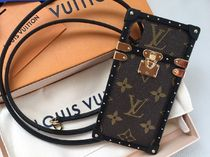Louis Vuitton Monogram Leather iPhone X Smart Phone Cases