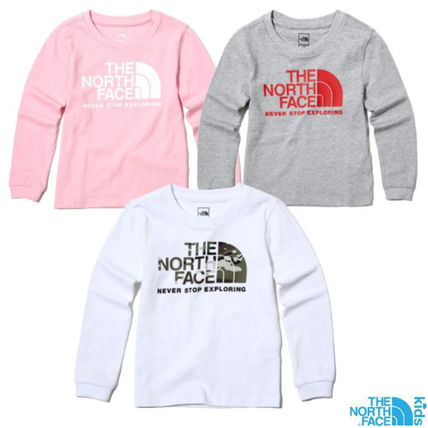 fc3a41203 THE NORTH FACE 2018-19AW Unisex Petit Street Style Kids Girl Tops by ...