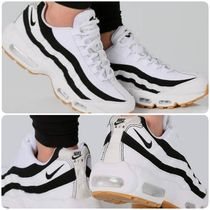 Nike AIR MAX 95 Stripes Plain Toe Casual Style Unisex Street Style