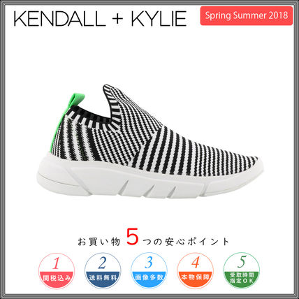 Zebra Patterns Round Toe Rubber Sole Casual Style