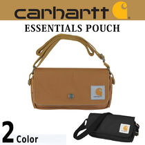 Carhartt Casual Style Canvas Plain Shoulder Bags