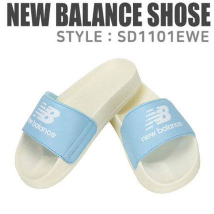 new balance slippers