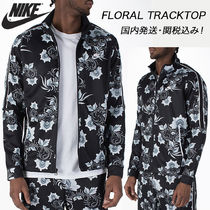 Nike Flower Patterns Street Style Track Jackets
