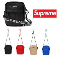 Supreme Nylon A4 Plain Messenger & Shoulder Bags