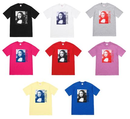 Supreme More T-Shirts Cotton Short Sleeves T-Shirts
