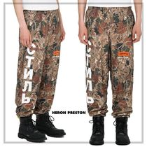 Heron Preston Printed Pants Street Style Cotton Patterned Pants