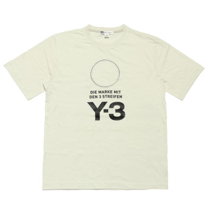 Y-3 More T-Shirts Cotton Short Sleeves T-Shirts