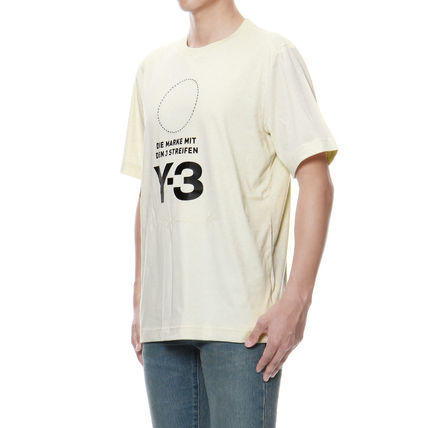 Y-3 More T-Shirts Cotton Short Sleeves T-Shirts 3