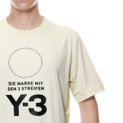 Y-3 More T-Shirts Cotton Short Sleeves T-Shirts 5