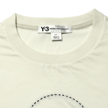 Y-3 More T-Shirts Cotton Short Sleeves T-Shirts 6