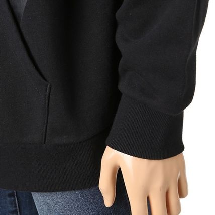 Guess Hoodies Pullovers Unisex Long Sleeves Plain Cotton Hoodies 8