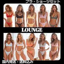 LOUNGE Lace Lingerie Sets