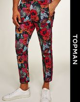 TOPMAN Printed Pants Flower Patterns Street Style Patterned Pants