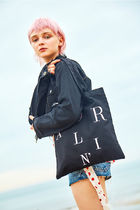 Entre Reves Casual Style Canvas Street Style A4 Totes
