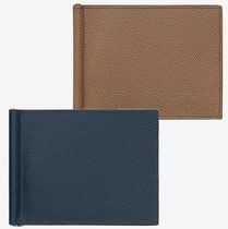 HERMES Calfskin Street Style Bi-color Plain Home Party Ideas