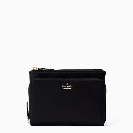 eaf25016cbe0 ... kate spade new york Pouches   Cosmetic Bags Nylon Plain Pouches    Cosmetic ...