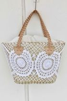 Mon ange Louise Straw Bags