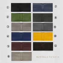 BOTTEGA VENETA Leather Folding Wallets