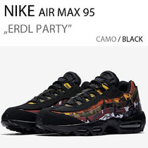Nike AIR MAX 95 Street Style Plain Sneakers