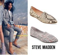 Steve Madden Casual Style Street Style Plain Pointed Toe Shoes