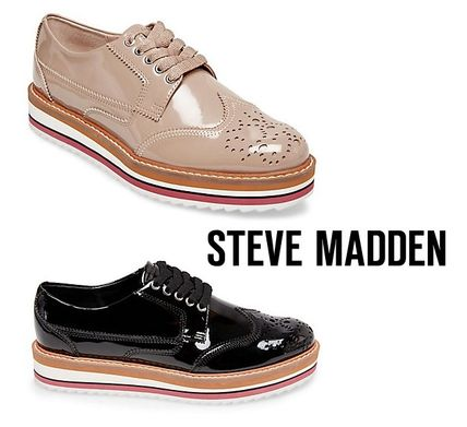 5a9d4a10f28 Steve Madden 2019 SS Platform Plain Elegant Style Loafer Pumps   Mules by  cubbyy13 - BUYMA
