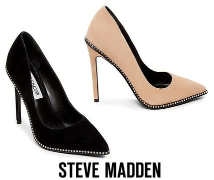 a583f2faf15 Steve Madden 2019 SS Suede Plain Pin Heels Elegant Style by cubbyy13 ...