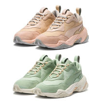 PUMA Leather Low-Top Sneakers