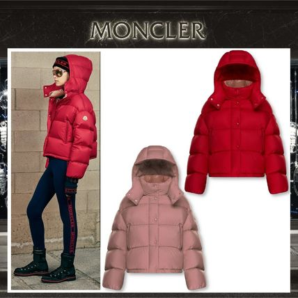 5c6726b5c533 MONCLER 2018-19AW Short Casual Style Plain Down Jackets by figaro ...