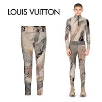 Louis Vuitton Printed Pants Monogram Nylon Patterned Pants
