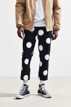PUBLISH Dots Street Style Cropped Pants