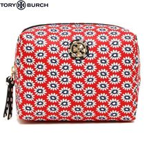 Tory Burch Flower Patterns Pouches & Cosmetic Bags