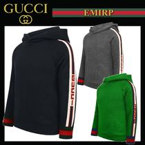GUCCI Unisex Petit Street Style Kids Girl Tops