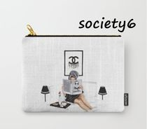 Society6 Pouches & Cosmetic Bags