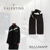 VALENTINO Unisex Wool Oversized Accessories